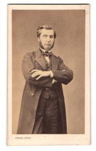 Fotografie Pierre Petit, Paris, Portrait Emille Olivier französischer Politiker