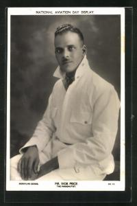 AK Fallschirmspringer Mr. Ivor Price, Halbportrait