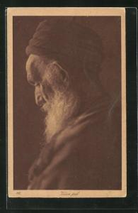 AK Vieux juif, Alter jüdischer Mann mit Bart