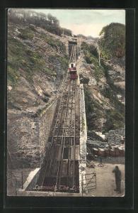 AK Lynmouth, the Lift, Bergbahn