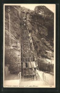 AK Lynmouth, Cliff Railway, Bergbahn
