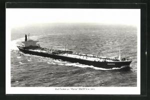 AK Shell Tanker S. S. Marisa auf hoher See