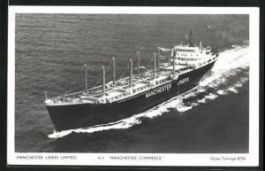 AK Handelsschiff M.V. Manchester Commerce, Manchester Liners Limited