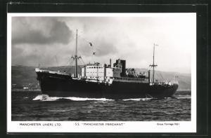 AK Handelsschiff S.S. Manchester Merchant, Manchester Liners Limited