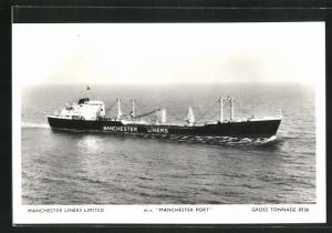 AK Handelsschiff M.V. Manchester Port, Manchester Liners Limited