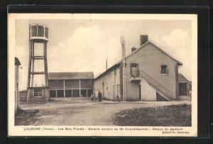 AK Louesme, Les Bois Plantes, Colonie Scolaire du 19. Arrondissement, Maison du Jardinier