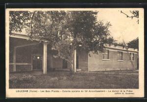 AK Louesme, Les Bois Plantes, Colonie Scolaire du 19. Arrondissement, Le dortoir et le Preau