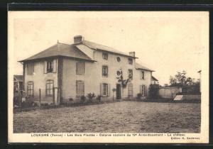 AK Louesme, Les Bois Plantes, Colonie Scolaire du 19. Arrondissement, Le chateau