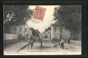 AK Villeneuve-sur-Yonne, Faubourg St-Savinien