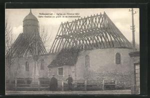 AK Villeperrot, Eglise 1930