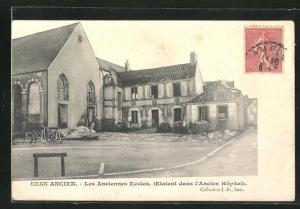 AK Sens, Les Anciennes Ecoles (etaient dans l`Ancien Hopital)