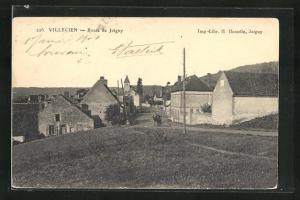 AK Villecien, Route de Joigny, Blick in den Ort