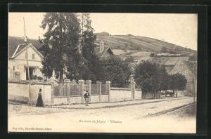 AK Villecien, Environs de Joigny, Ortspartie