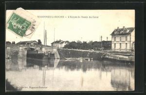AK Migennes-Laroche, L`Ecluse du Bassin du Canal