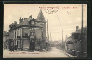 AK Migennes-Laroche, La Rue Etienne-Dolet