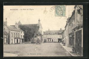 AK Bleneau, La Place de l`Eglise