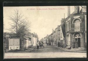 AK Senan, La Rue principale, Route d`Aillant-sur-Tholon