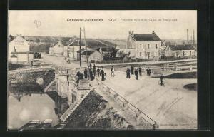AK Laroche-Migennes, Canal, Premiére Ecluse du Canal de Bourgogne