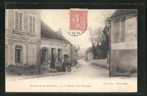 AK Ouanne, La Rue Principale, Hauptstrasse