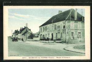 AK Epineau-les-Voves, Route d'Auxerre