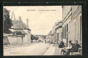 AK Montacher, La Route de Saint-Valerien
