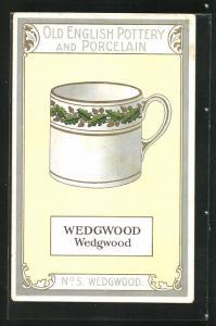 AK Wedgwood, No. 5, Old English Pottery an Porcelain, Teetasse