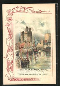 AK La Rochelle, Tours de la Rochelle