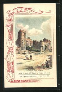 AK Avignon, Chateau de Papes