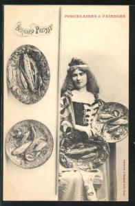 AK Porcelaines & Faiences, Bernard Palissy, Porzellan