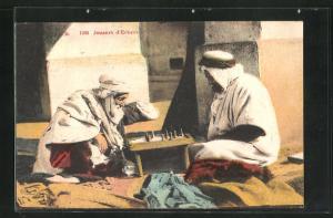 AK Joueurs d`Echecs, Zwei Araber beim Schach