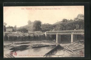 AK Lao-Kay, Le Pont sur le Nam-Thi, Brücke