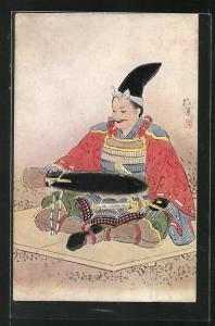 AK Samurai im Gewand