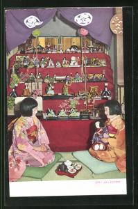 AK Girls Doll Festival, Geisha