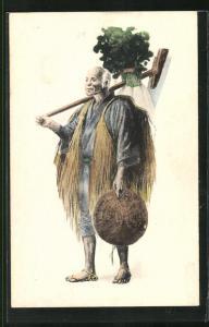 AK japanischer Bauer