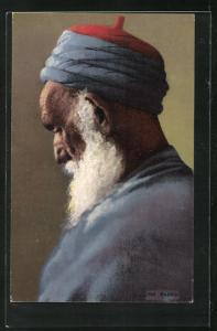 AK Portrait eines Rabbin