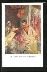 AK Paleste Peasants Bartering