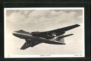 AK Kampfflugzeug der Royal Navy vom Typ Vickers Valiant