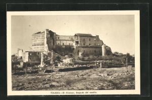 AK Toledo, Spanischer Bürgerkrieg, El Alcázar, después del asedio