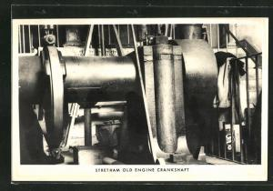AK Stretham old Engine Crankshaft
