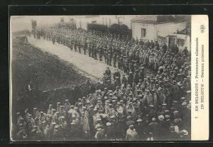 AK In Belgium, German prisoners, Kriegsgefangene