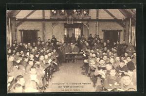 AK Frankfurt / Oder, Camp, La salle de lecture, Kriegsgefangene