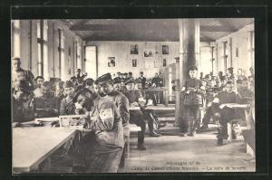 AK Kassel, Camp, La salle de lecture, Kriegsgefangene