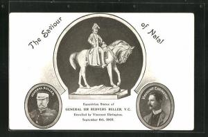 AK The Saviour of Natal, Equestrian Statue of General Sir Redvers Buller