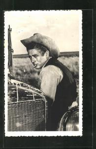 AK Schauspieler James Dean in dem Film Giganten