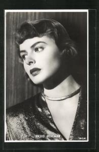 AK Schauspielerin Ingrid Bergman in einer Filmszene