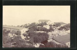 AK Cherat, Blick auf Häuser der Ortschaft