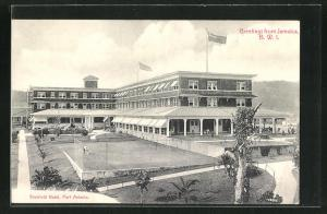 AK Port Antonio, Blick auf das Titchfield Hotel