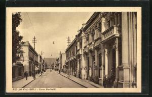AK Reggio Calabria, Corso Garibaldi, Strassenpartie