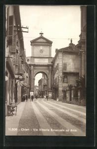AK Chieri, Via Vittorio Emanuele ed Arco