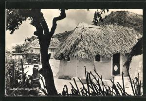 AK Curacao / N. W. I., Native Hut